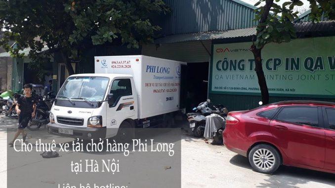 Công ty Phi Long chuyên cung cấp cho thuê xe tải chở hàng giá rẻ tại phố Vũ Hữu