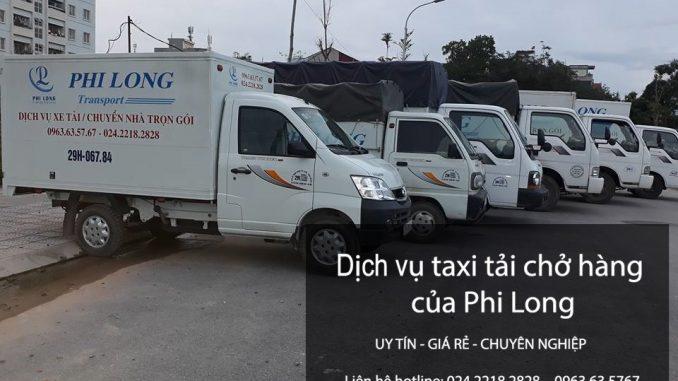 Taxi tải Hà Nội tại phố Nam Tràng