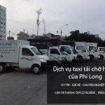 Dịch vụ cho thuê xe tải tại phố Bùi Xương Thạch