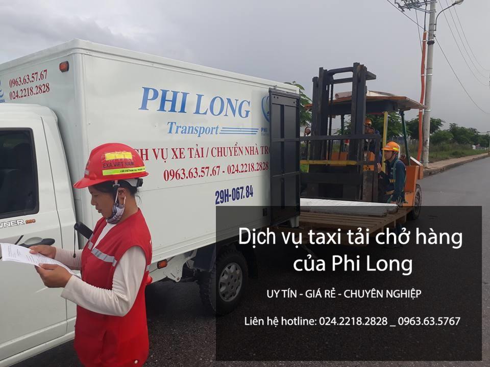 Dịch vụ taxi tải hà nội tại phố Huỳnh Tấn Phát-0963.63.5767.