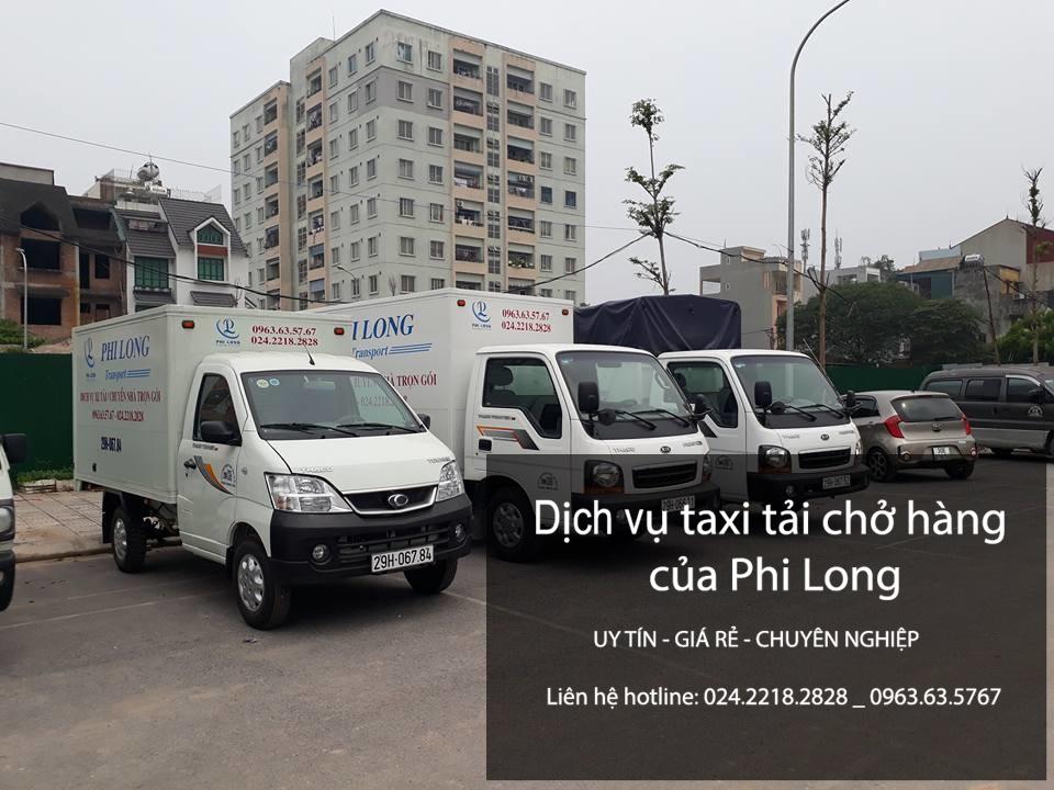Phi Long cho thuê xe tải chở hàng giá rẻ tại phường Thanh Xuân Bắc