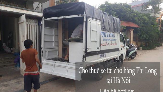 Cho thuê taxi tải chở hàng Hà Nội tại phố Chu Huy Mân-0963.63.5767