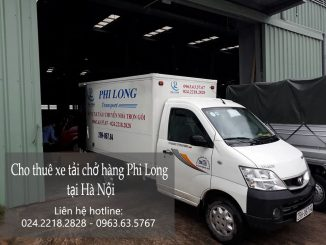 Cho thuê xe tải giá rẻ tại phố Trần Danh Tuyên-0963.63.5767.