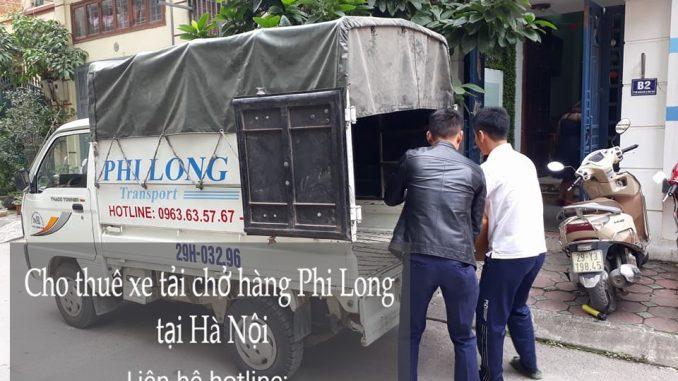 Cho thuê xe tải Hà Nội tại phố Vĩnh Hồ
