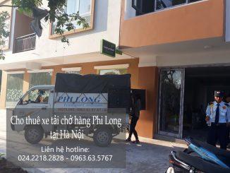 Dịch vụ cho thuê xe tải chuyển kho xưởng tại phố Vũ Xuân Thiều