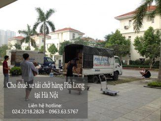 Taxi tải Hà Nội Phi Long tại khu đô thị ecopark
