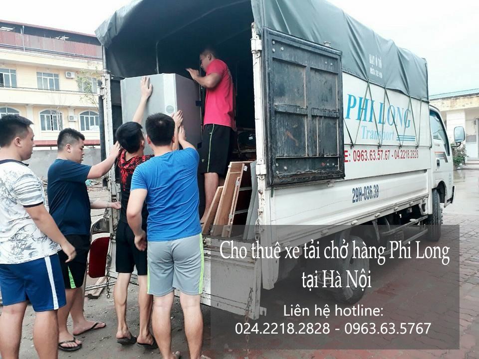Cho thuê xe tải Hà Nội tại phố Nguyên Khiết-0963.63.5767