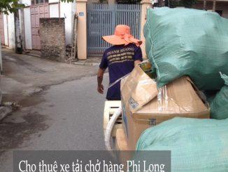 Dịch vụ taxi tải Hà Nội tại phố Cát Linh 2019