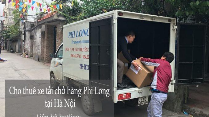 Cho thuê taxi tải Hà Nội tại phố Nguyễn Tri Phương