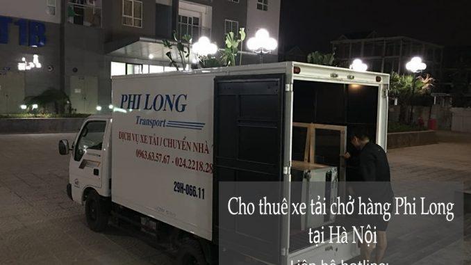 Cho thuê xe tải Hà Nội tại phố Đông Thiên