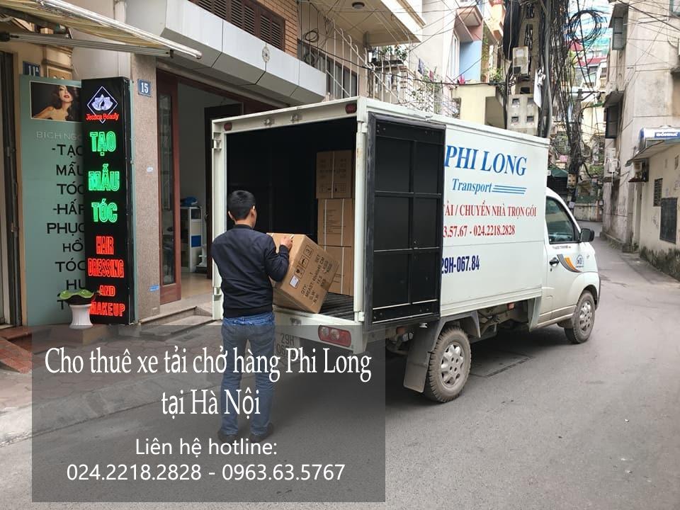 Cho thuê xe tải nhỏ chở hàng tại phố Nam Đồng