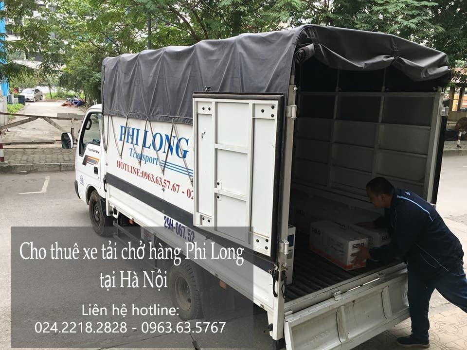 Dịch vụ cho thuê xe tải vận chuyển hàng hóa tại phố Hội Xá