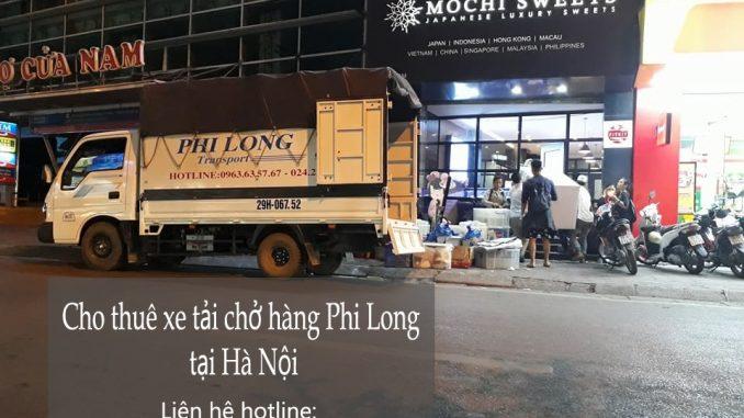 Dịch vụ cho thuê xe tải Hà Nội tại phố Phú Thượng