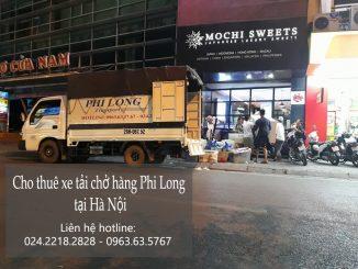 Cho thuê xe taxi tải tại phố Phương Mai