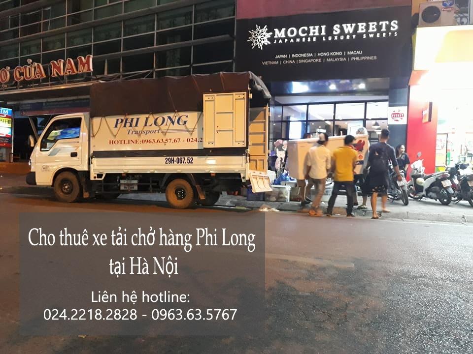 Dịch vụ taxi tải tại phố Trần Thủ Độ