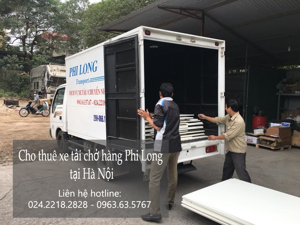 Dịch vụ taxi tải tại phố Nguyễn Đình Thi