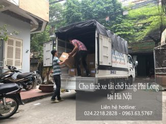 Cho thuê xe tải vận chuyển hàng hóa tại hà nội