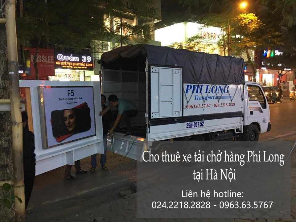 Dịch vụ taxi tải Hà Nội tại phố Đặng Văn Ngữ