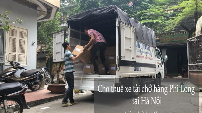 Cho thuê xe taxi tải Hà Nội tại phố Đặng Dung