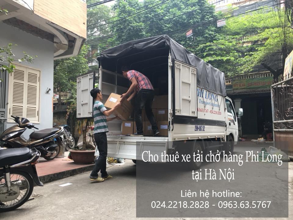 Dịch vụ cho thuê taxi tải tại phố Vạn Phúc