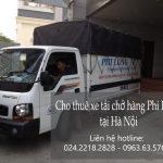 cho thuê xe taxi tải Hà Nội tại phố Vũ Hữu Lợi