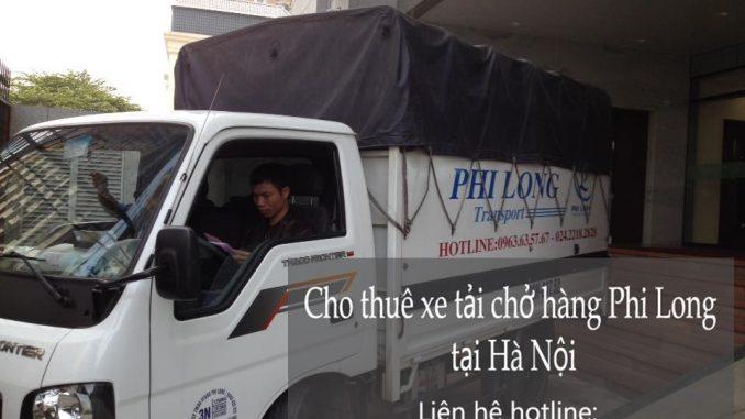 Dịch vụ taxi tải Hà Nội tại phố Ngô Tất Tố