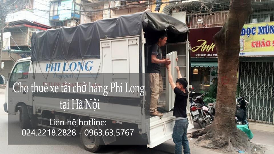 Dịch vụ taxi tải Hà Nội tại phố Trịnh Hoài Đức