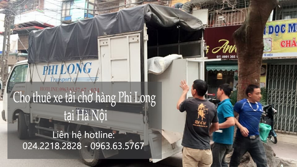 Dịch vụ taxi tải Hà Nội tại phố Nguyễn Gia Thiều