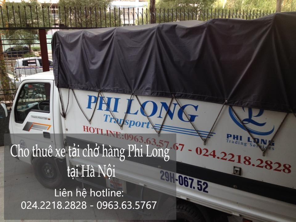 Dịch vụ taxi tải Hà Nội tại phố Vũ Hữu