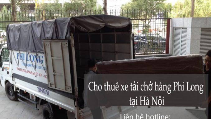 Dịch vụ taxi tải Hà Nội tại phố Phùng Khoang