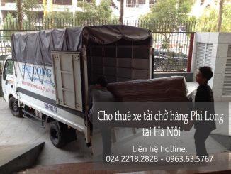 Cho thuê xe taxi tải Hà Nội tại phố Lương Ngọc Quyến