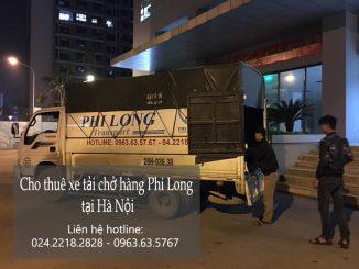 Cho thuê xe taxi tải Hà Nội tại phố Trung Hòa