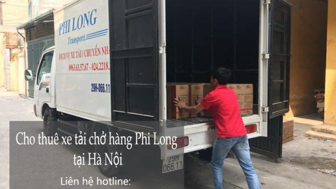 Cho thuê xe taxi tải Hà Nội tại phố Trần Duy Hưng