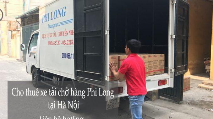 Dịch vụ taxi tải Hà Nội tại phố Trung Kính