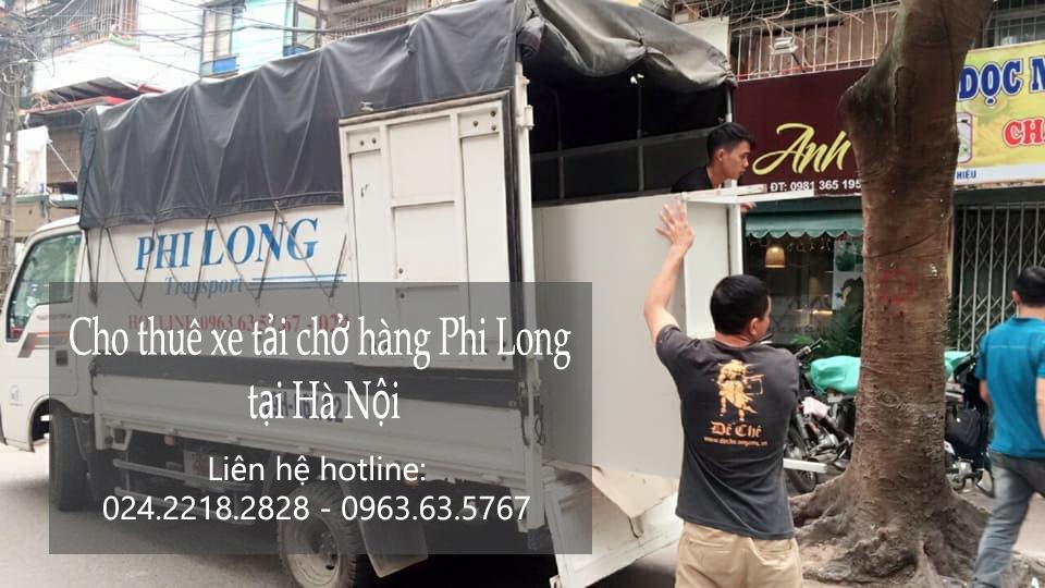 Dịch vụ taxi tải tại phố Nguyễn Khắc Nhu