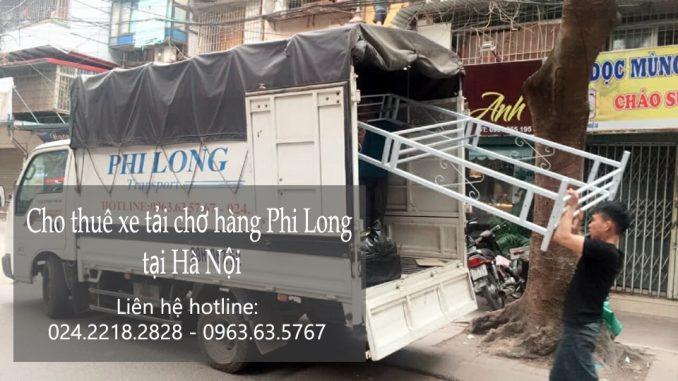 Dịch vụ taxi tải Hà Nội tại phố Lê Thánh Tông