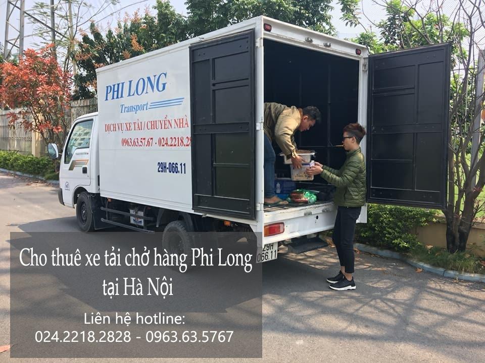Dịch vụ cho thuê xe tải giá rẻ tại phố Ngô Văn Sở
