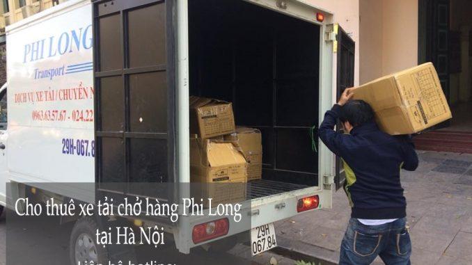 Dịch vụ taxi tải Hà Nội tại phố Đặng Xuân Viện