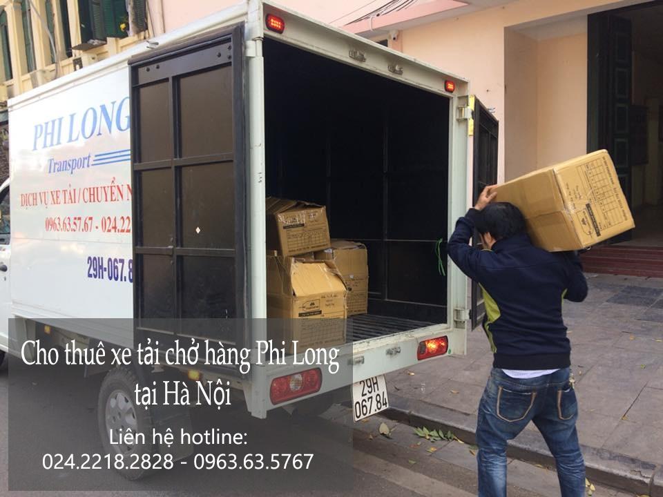 Dịch vụ taxi tải tại phố Giang Văn Minh