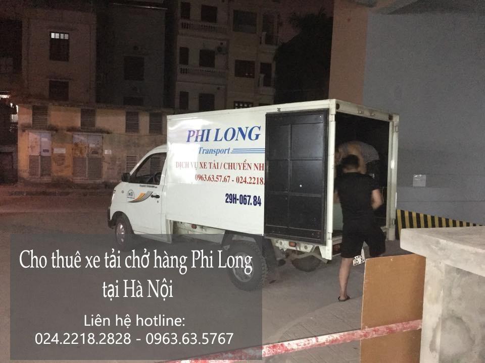 Dịch vụ taxi tải tại phố Nguyễn Văn Trỗi