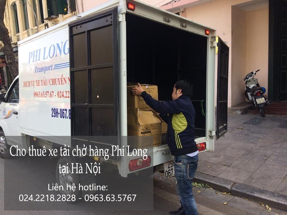 Dịch vụ taxi tải Hà Nội tại phố Nguyễn Thượng Hiền