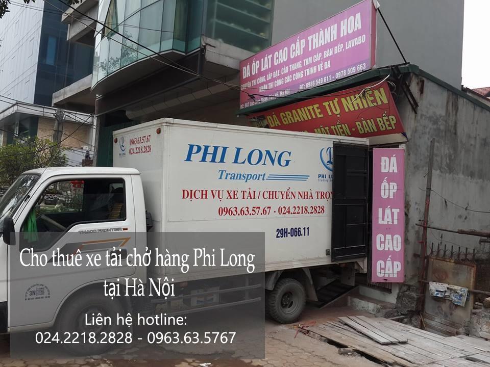 Dịch vụ taxi tải Hà Nội tại phố Thanh Bình