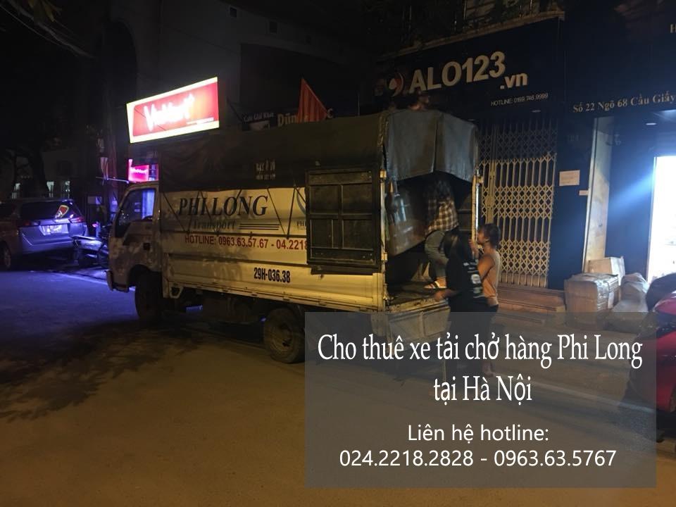 Thuê xe vận chuyển giá rẻ tại phố Đào Duy Từ