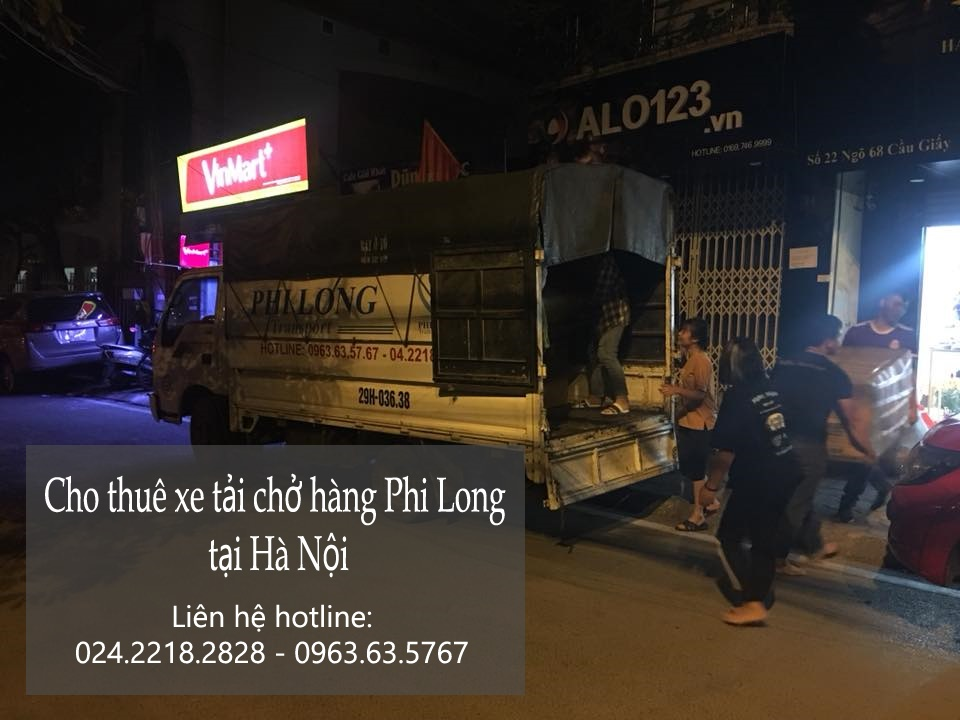 Dịch vụ taxi tải Phi Long tại phố Khương Thượng