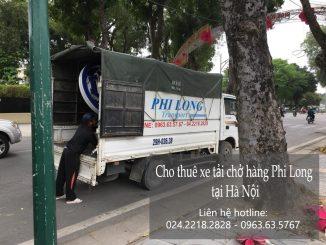 Cho thuê xe taxi tải Hà Nội tại phố Tô Tịch