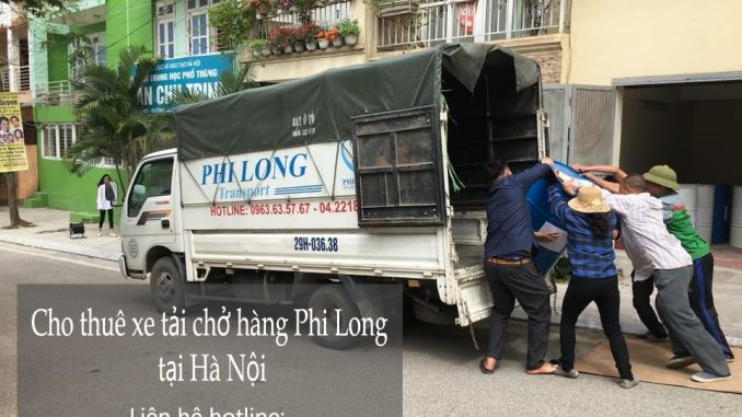 Cho thuê xe taxi tải tại phố Kim Đồng