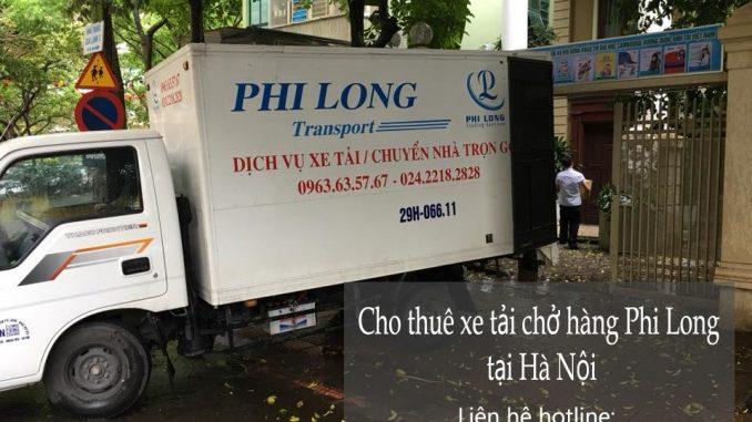 Thuê xe vận chuyển tại đường Giải Phóng