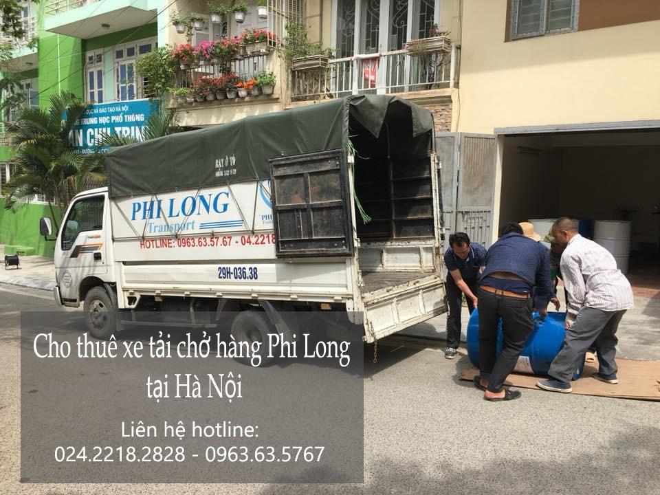 Dịch vụ taxi tải Phi Long tại phố Vương Thừa Vũ
