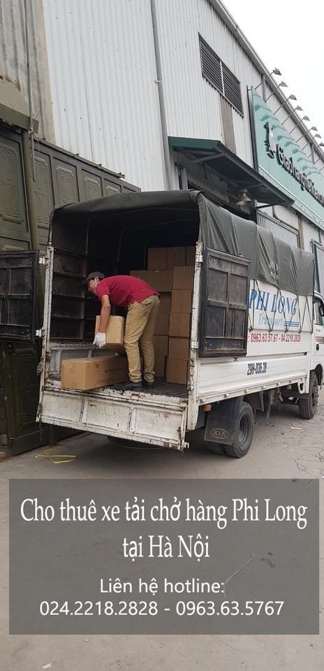Cho thuê xe taxi tải Hà Nội tại phố Lê Lai