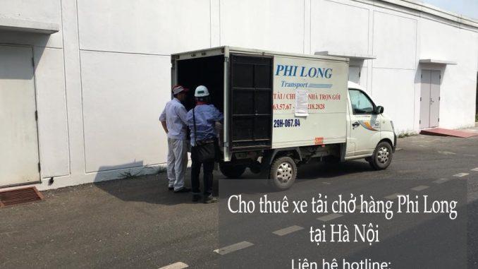 Dịch vụ taxi tải Hà Nội tại phố Yết Kiêu